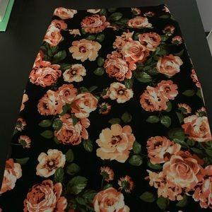 A&D floral skirt